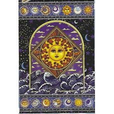 Sun Over Waves Tapestry